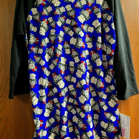 LulaRoe shirt zise M
